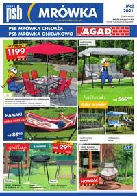 Gazetka promocyjna PSB Mrówka - PSB Mrówka - wszystko do Twojego ogrodu - ważna do 15-05-2021