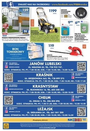 PSB Mrówka - gazetka promocyjna