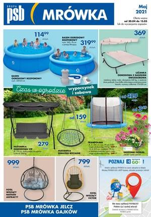 Gazetka promocyjna PSB Mrówka - PSB Mrówka - baseny ogrodowe