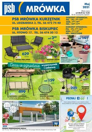 Gazetka promocyjna PSB Mrówka - PSB Mrówka - wyposażenie domu i ogrodu