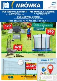 Gazetka promocyjna PSB Mrówka - Najnowsze promocje w PSB Mrówka