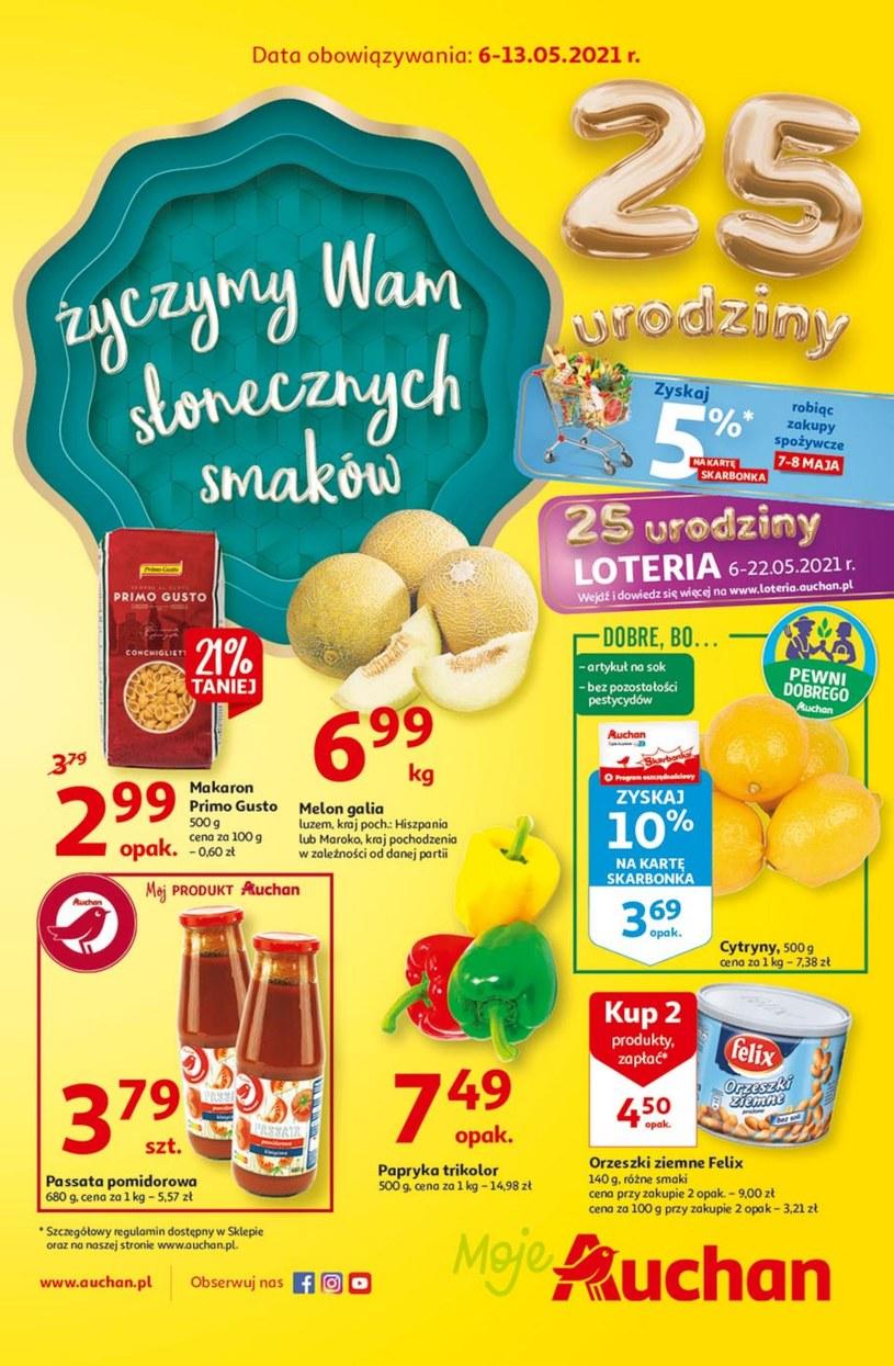 Moje Auchan: 1 gazetka