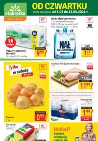 Gazetka promocyjna Stokrotka Market - Okazje od czwartku w Stokrotka Market! - ważna do 12-05-2021