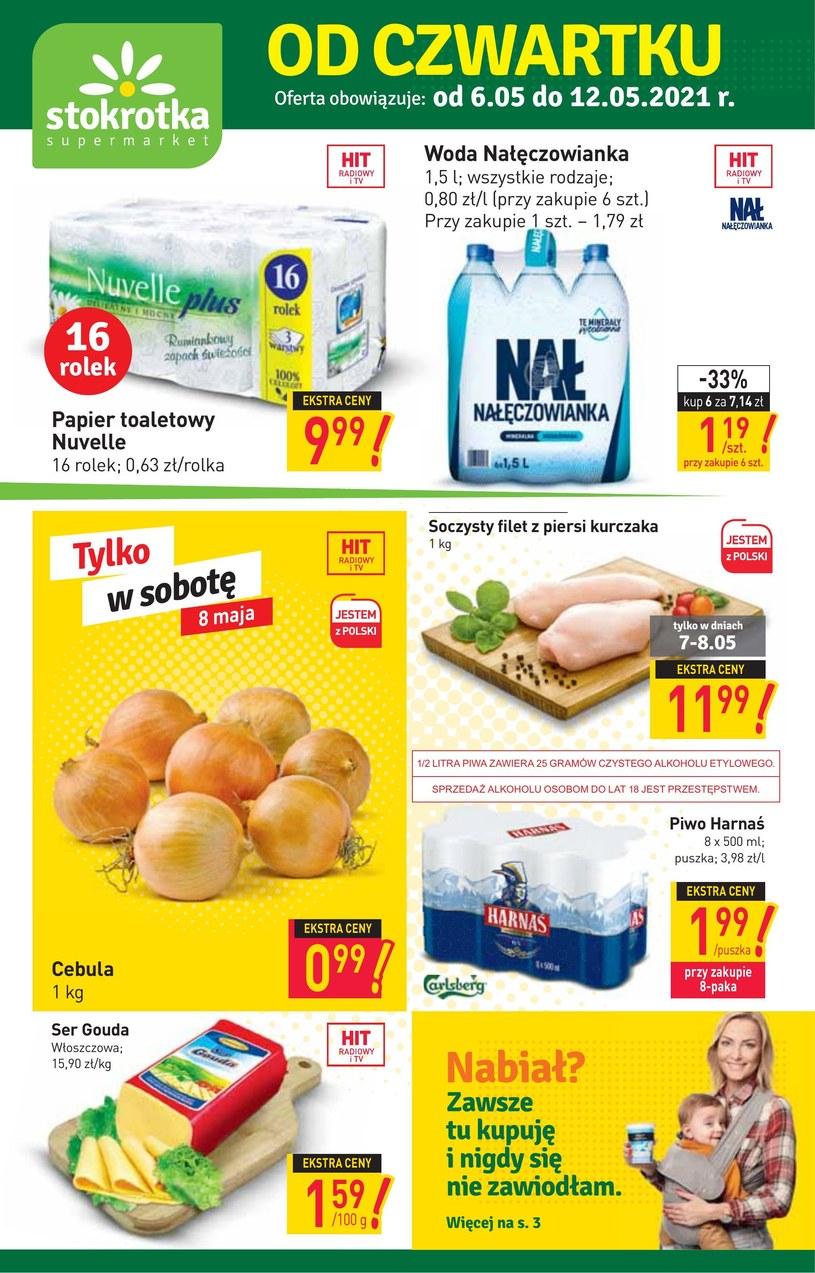 Gazetka promocyjna Stokrotka Supermarket - ważna od 06. 05. 2021 do 12. 05. 2021
