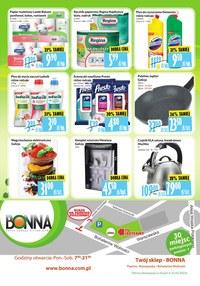 Gazetka promocyjna Bonna - Promocje w sklepach Bonna