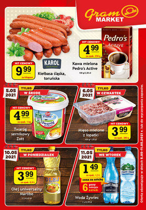 Gazetka promocyjna Gram Market - Promocje w sklepach Gram Market!