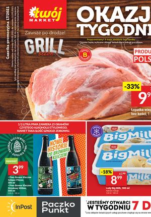 Gazetka promocyjna Twój Market - Okazje tygodnia w sklepach Twój Market!