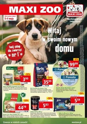 Gazetka promocyjna Maxi ZOO - Maxi Zoo - zawsze w niskich cenach