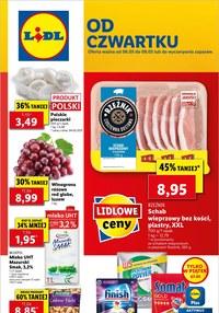 Gazetka promocyjna Lidl - Od czwartku w Lidlu!   - ważna do 08-05-2021