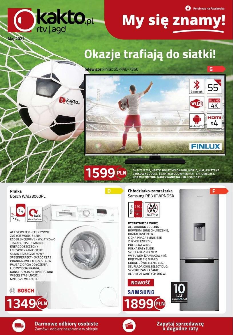 Gazetka promocyjna Kakto.pl - ważna od 07. 05. 2021 do 31. 05. 2021