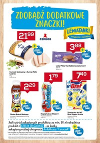 Gazetka promocyjna Lewiatan - Zbieraj znaczki w Lewiatanie   - ważna do 12-05-2021