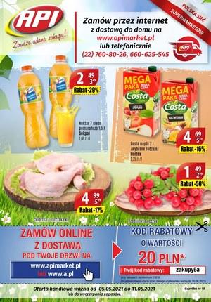 Gazetka promocyjna Api Market - Świeżo i tanio w Api Market