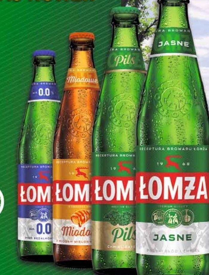 Piwo Łomża niska cena