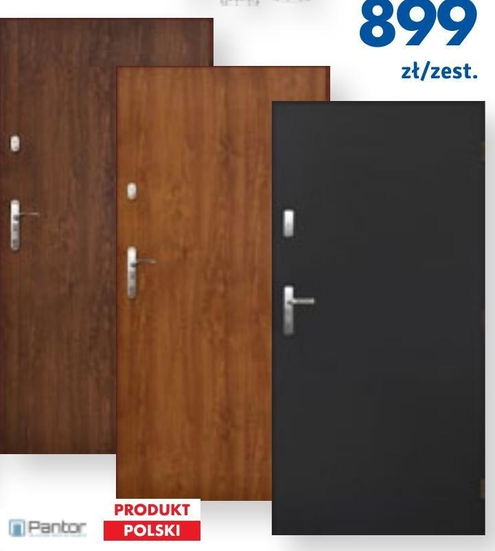 Drzwi zewnętrzne Pantor niska cena