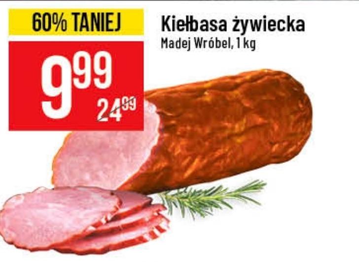 Kiełbasa Madej Wróbel niska cena