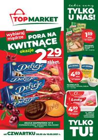 Gazetka promocyjna Top Market - Bliżej i taniej z Top Market!   - ważna do 19-05-2021