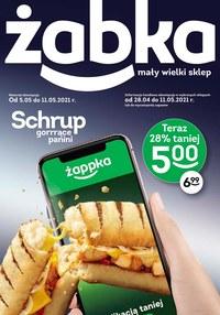 Gazetka promocyjna Żabka - Schrup promocje w Żabce - ważna do 11-05-2021