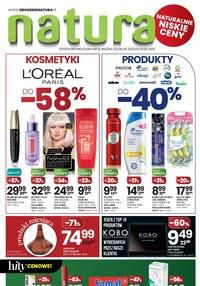 Drogerie Natura - kosmetyki do -58%