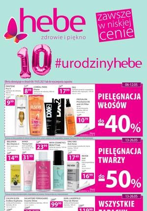 Gazetka promocyjna Hebe - Urodziny w Hebe!