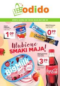 Gazetka promocyjna Odido - Wiosenne smaki w Odido