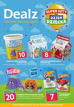 Gazetka promocyjna Dealz - Dealz na dzień dziecka!