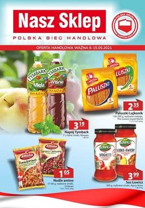 Gazetka promocyjna Nasz Sklep - Nasza Sklep - oferta handlowa