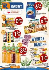 Gazetka promocyjna Rabat - Wybierz tanie zakupy w Rabat - ważna do 16-05-2021
