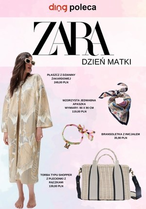 Gazetka promocyjna Zara - Prezenty na Dzień Matki w Zara
