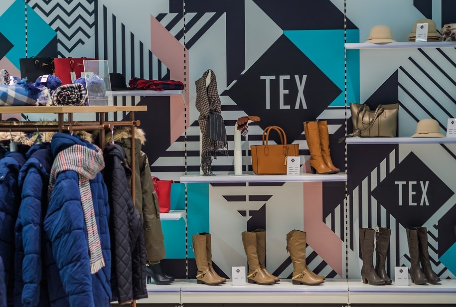 Ubrania TEX w sieci Carrefour.