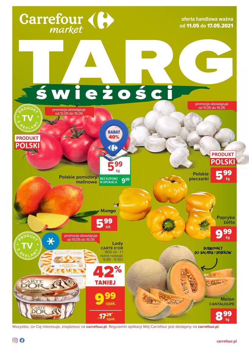 Gazetka promocyjna Carrefour Market - ważna od 11. 05. 2021 do 17. 05. 2021