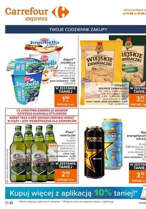 Gazetka promocyjna Carrefour Express - Carrefour Express - Twoje codzienne zakupy