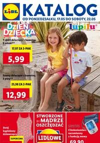 Gazetka promocyjna Lidl - Dzień dziecka w Lidlu - ważna do 22-05-2021
