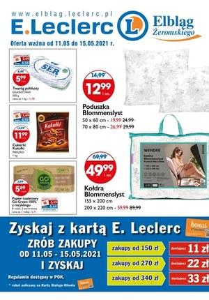 Gazetka promocyjna E.Leclerc - Nowe promocje w E.Leclerc Elbląg