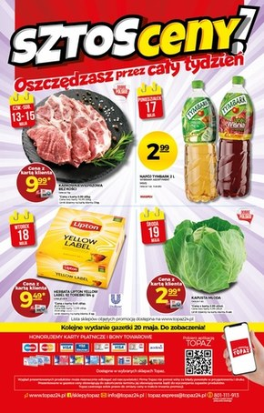 Topaz - nowa oferta promocyjna