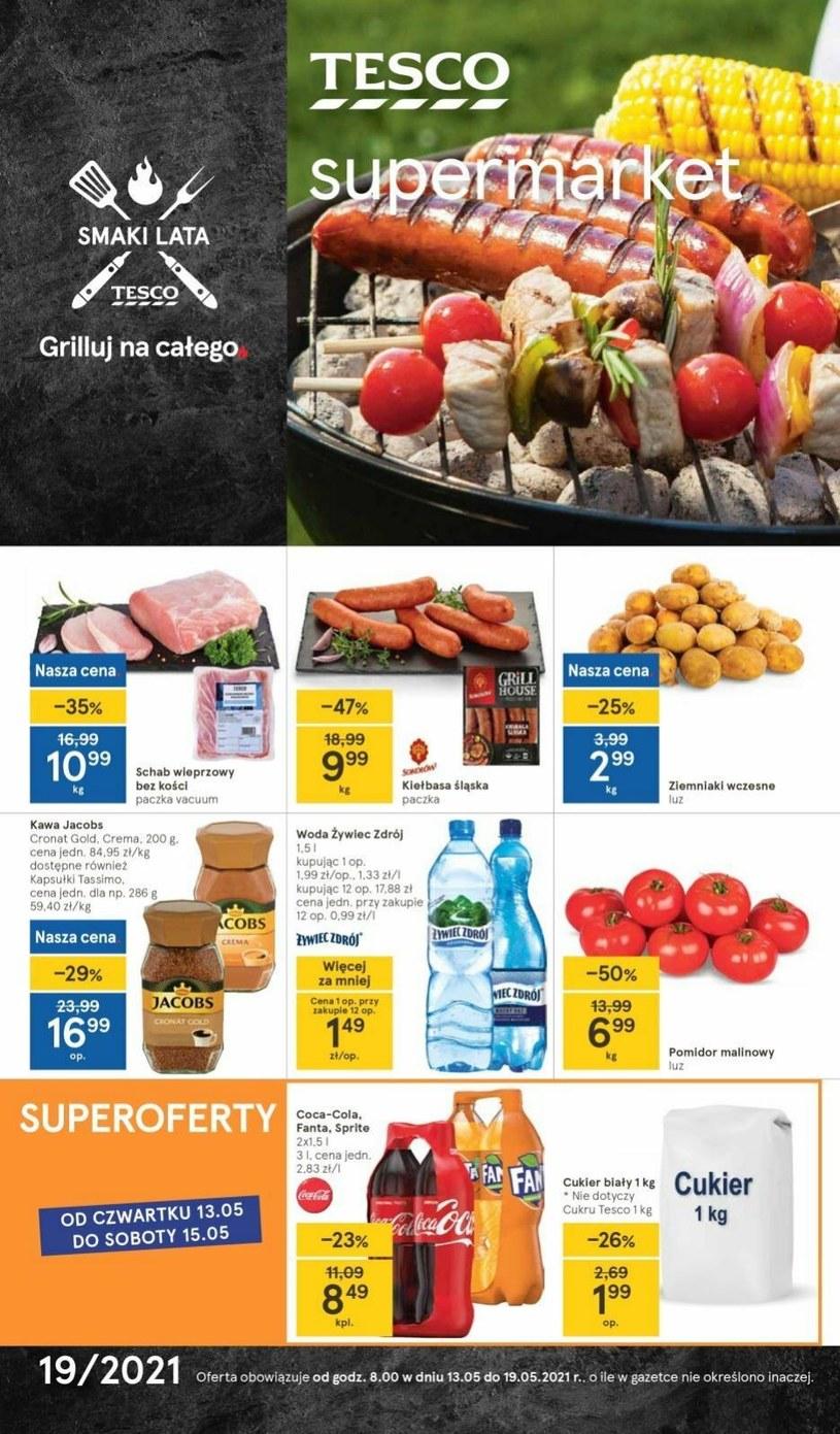 Gazetka promocyjna Tesco Supermarket - ważna od 13. 05. 2021 do 19. 05. 2021