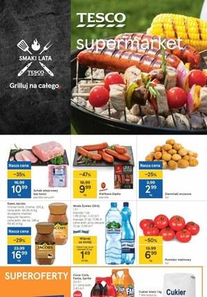 Gazetka promocyjna Tesco Supermarket - Tesco Supermarket - Grilluj na całego