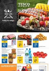 Gazetka promocyjna Tesco Supermarket - Tesco Supermarket - Grilluj na całego  - ważna do 19-05-2021