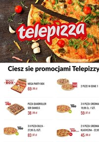 Gazetka promocyjna Telepizza - Ciesz się promocjami Telepizzy! - ważna do 31-05-2021
