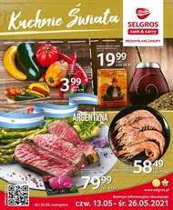 Kuchnie świata w Selgros