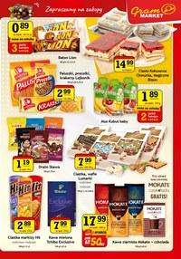 Gazetka promocyjna Gram Market - Nowe promocje w sieci Gram Market