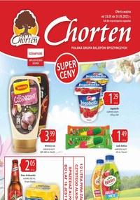 Gazetka promocyjna Chorten - Super ceny w Chorten! - ważna do 19-05-2021