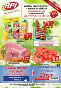Gazetka promocyjna Api Market - Zawsze udane zakupy w Api Market!   - ważna do 18-05-2021
