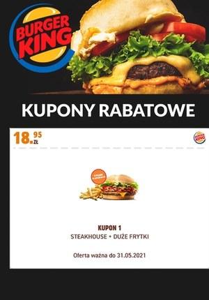 Gazetka promocyjna Burger King - Burger King - kupony rabatowe
