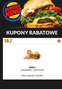 Gazetka promocyjna Burger King - Burger King - kupony rabatowe - ważna do 31-05-2021