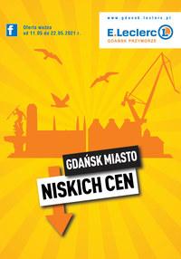 Gazetka promocyjna E.Leclerc - E.Leclerc Gdańsk -miasto niskich cen