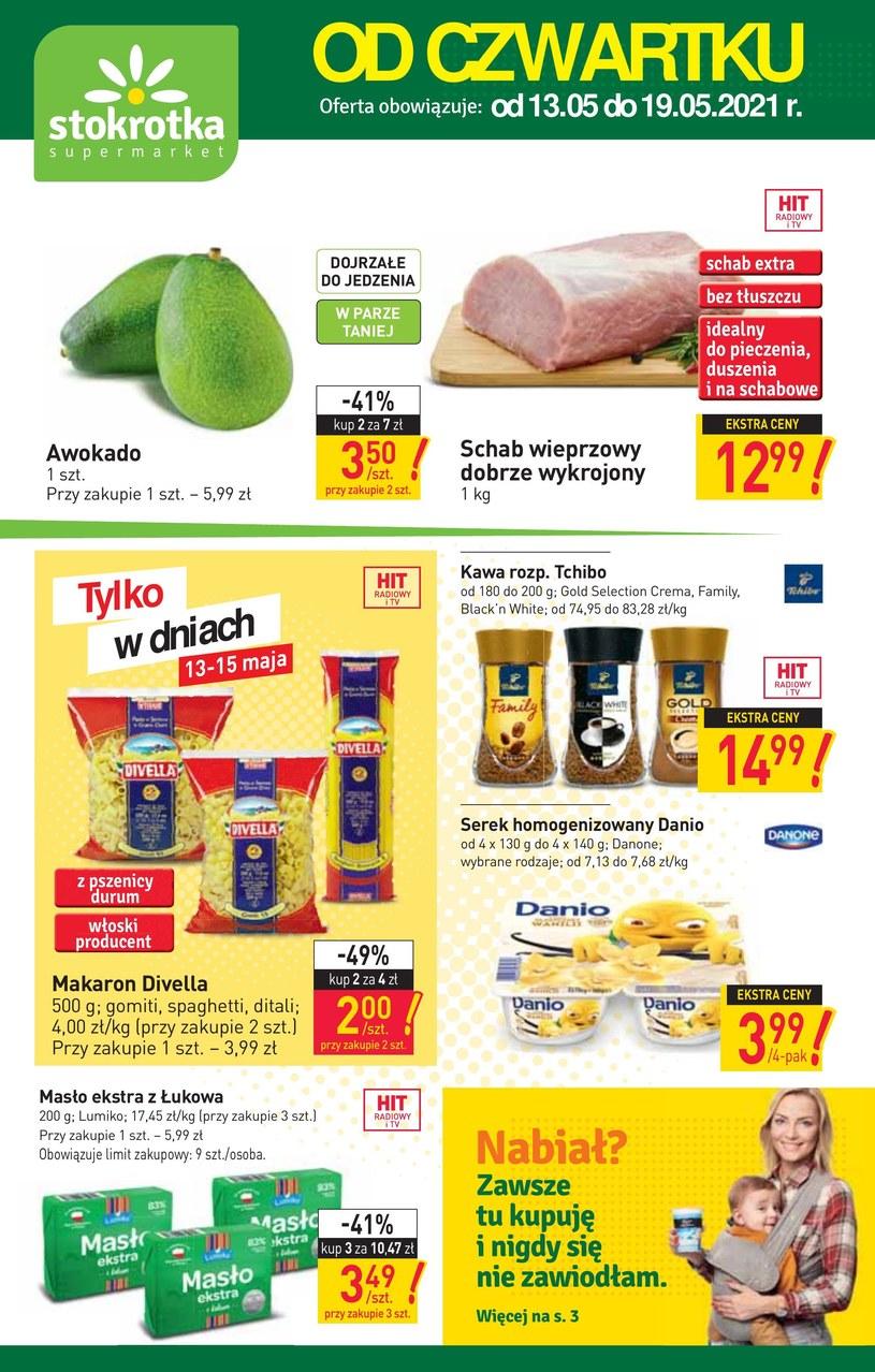 Gazetka promocyjna Stokrotka Supermarket - ważna od 13. 05. 2021 do 19. 05. 2021