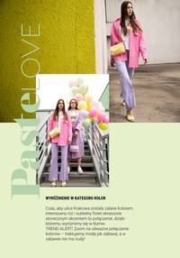 Gazetka promocyjna Galeria Krakowska - Pastelove - Lookbook Galeria Krakowska