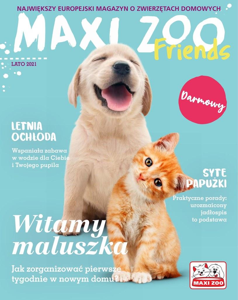 Gazetka promocyjna Maxi Zoo - ważna od 12. 05. 2021 do 31. 08. 2021