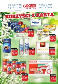 Korzyści z kartą w Społem Olsztyn