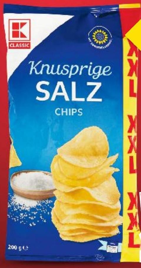 Chipsy Kaufland niska cena